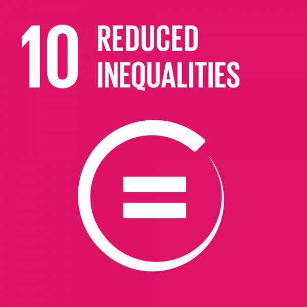 SDG Reduced inequalities