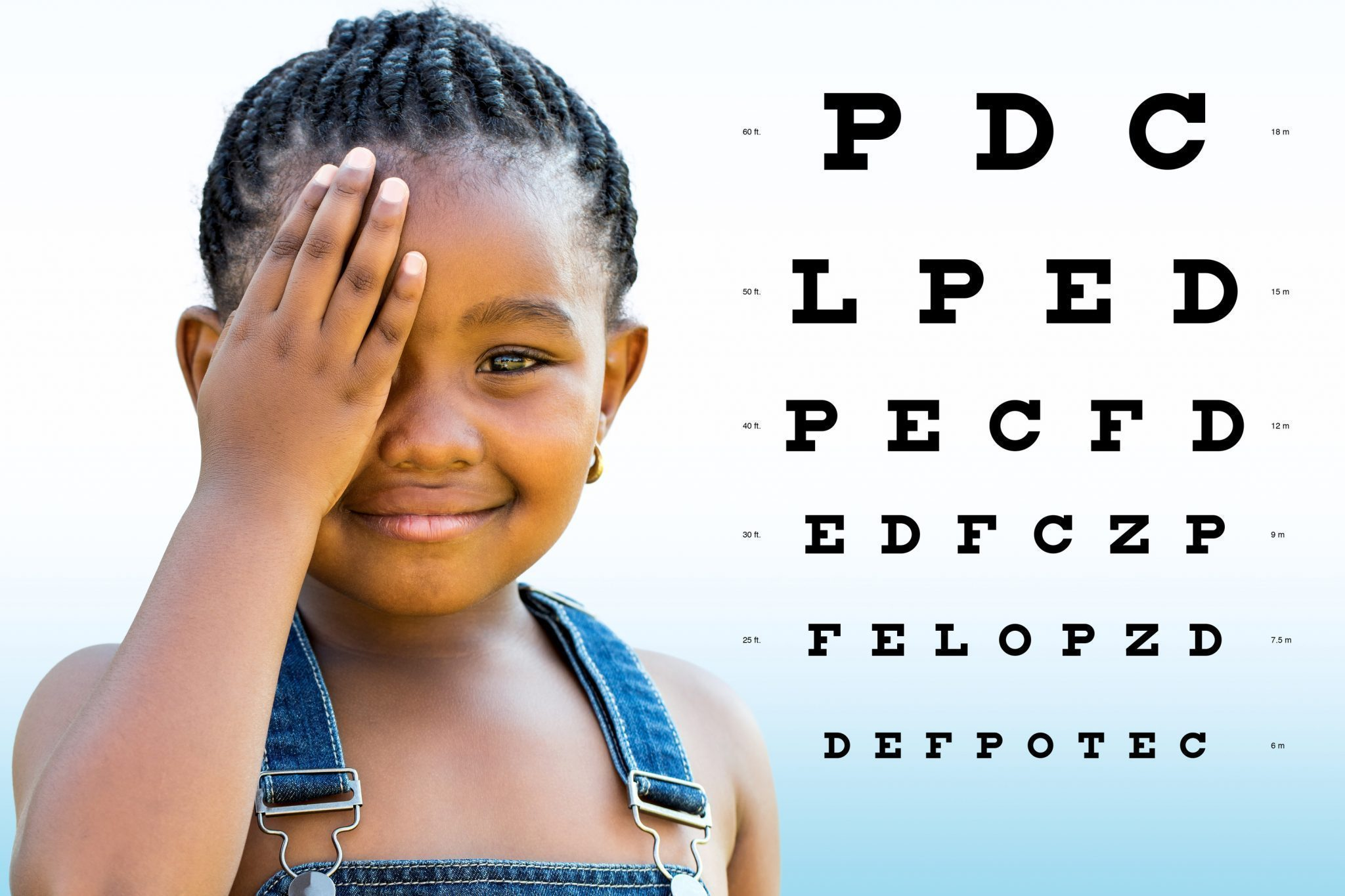 la vision en Afrique